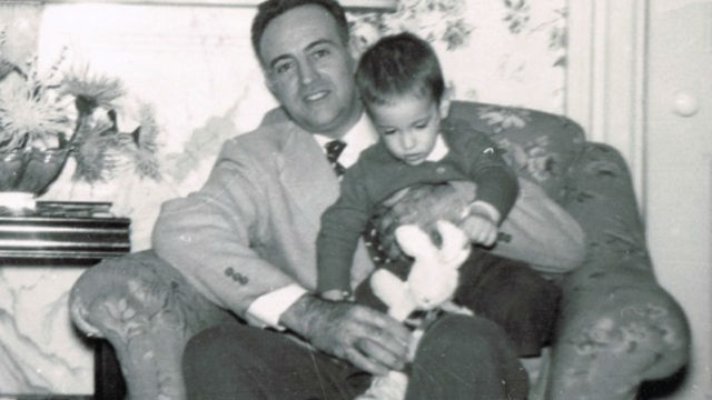 Paul Avgerinos and his father Costas Avgerinos