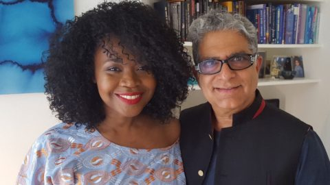 Olayimika Cole and Deepak Chopra